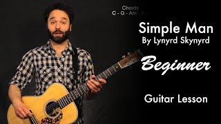 Simple Man by Lynyrd Skynyrd Tutorial