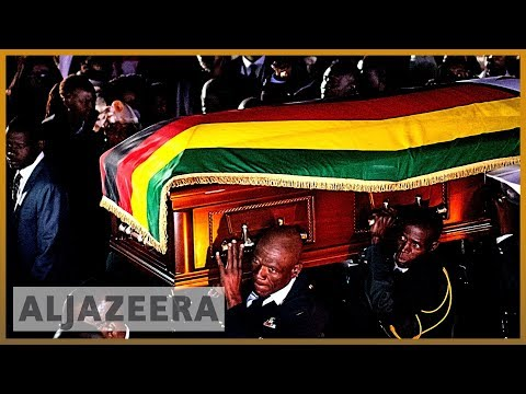 Robert Mugabe's body arrives in Zimbabwe amid mystery over b