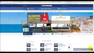 Как сделать check-in на Ryanair