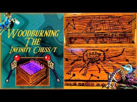 Zelda (BOTW) Secret Compartment Infinity Chess Box: 15 Steps