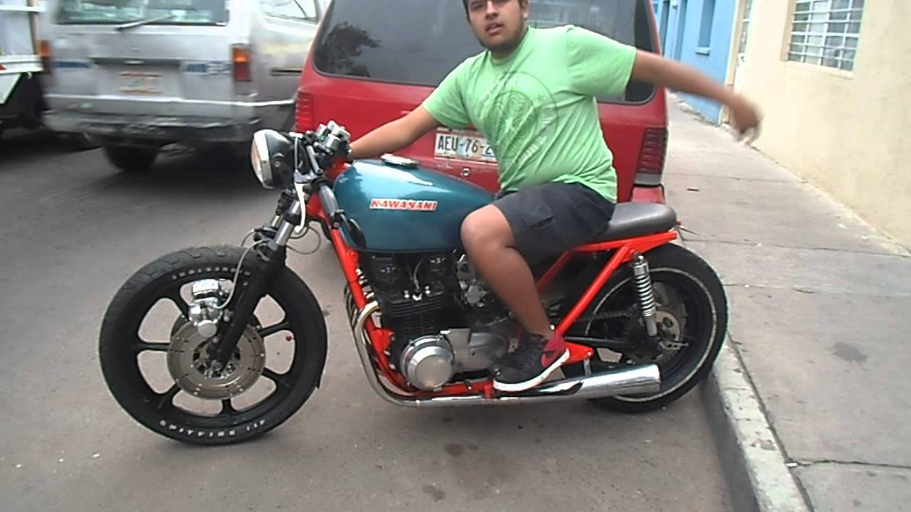 Kz650 Del 78 PROYECTO BRAT CAFE RACER AGS MEX
