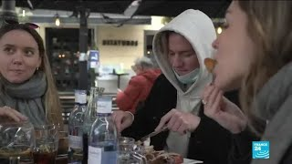 'It's liberating to be in a restaurant': French tourists escape to Madrid