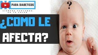 como es un bebe de 5 meses de diabetes gestacional