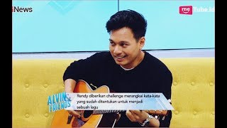 Rendy Pandugo Jago Ngarang Lagu Romantis Secara Spontan Part 01 - Alvin & Friends 09/10