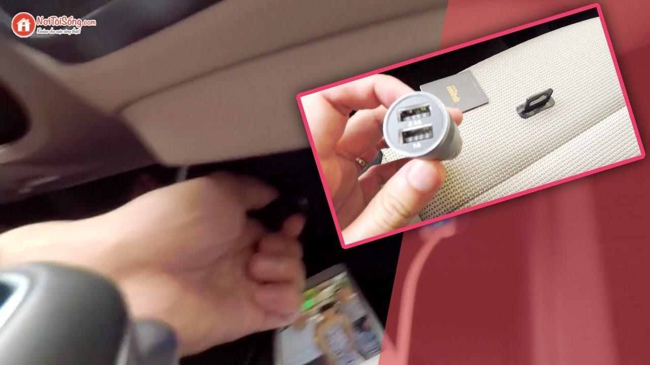Cách sử dụng & chọn tẩu sạc điện thoại trên ô tô | Nơi Tôi Sống