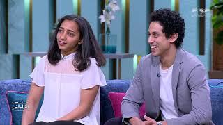 تحدي نجمي الاسكواش رنيم الوليلي وزوجها طارق مؤمن في