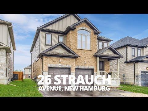 Superb Strauch - 26 Strauch Avenue - New Hamburg Real Estate Video