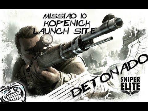 Sniper Elite V2 - Detonado #10 - Missão Kopenick Launch Site