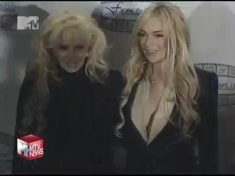 Линдси Лохан подралась с матерью
