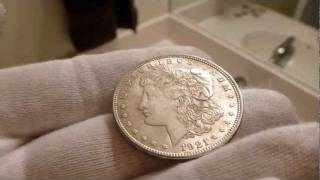 1921 Morgan Silver Dollar Coin Review