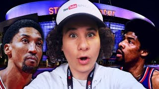 SNEAKING INTO THE NBA ALL-STAR GAME 2018! (Dr. J, Scottie Pippen, James Worthy & Donovan Mitchell)