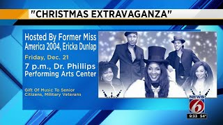 Former Miss America invites Central Floridians to her upcoming Christmas Extravaganza