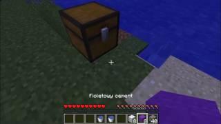 Jak zrobić cement i beton.Minecraft 1.12