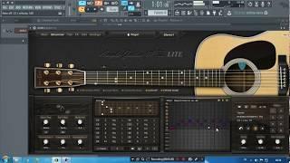 CARA membuat musik gitar di FL Studio part 1