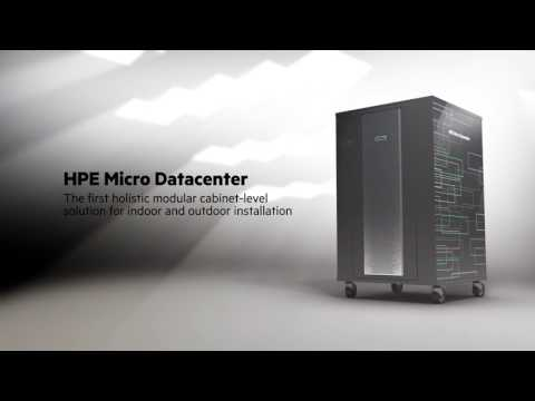 HPE Micro Data Center: The Future of Data Center Facilities