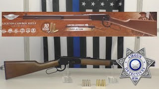 """Umarex Legends Co2 .177 Cowboy Rifle, Shell Ejecting """"Full Review"""" By Airgun Detectives"""
