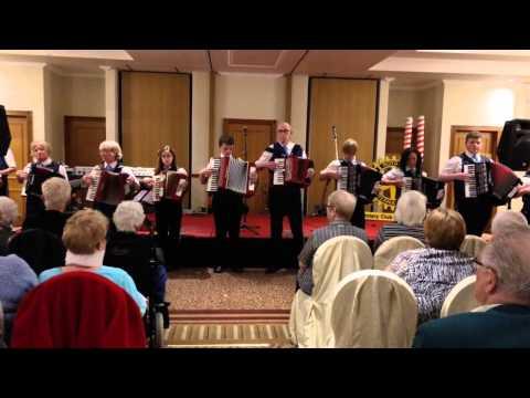 Forth Bridges Accordion Band - Rotary Club Polmont  Feb 2014