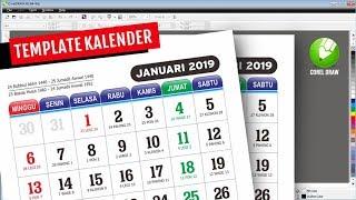 Gambar cover Membuat Kalender 2019 di CorelDraw