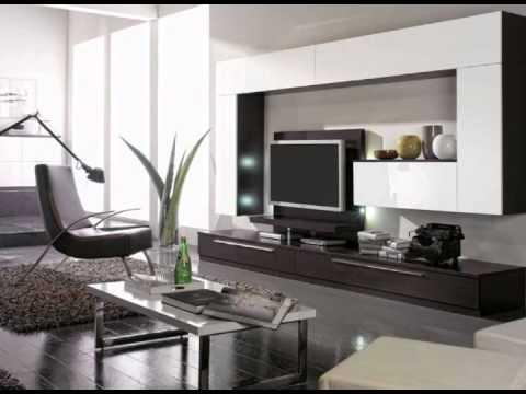 Muebles de salones con estanterias youtube - Iluminacion de salones ...