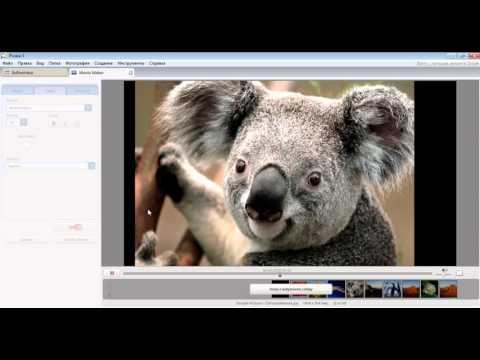 Создание видео из фото и музыки бесплатно в Picasa