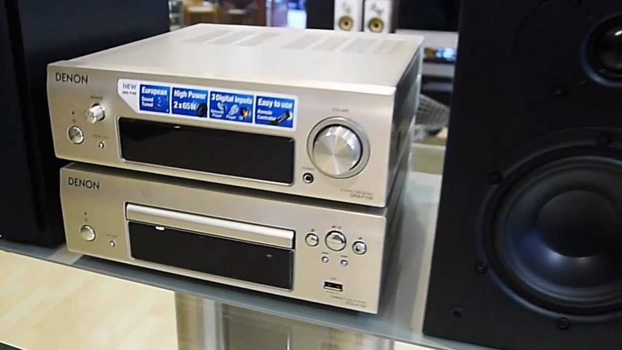minicadena Denon DF109 - YouTube