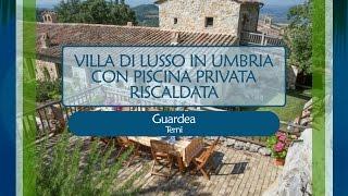 VILLA DI LUSSO IN UMBRIA CON PISCINA PRIVATA RISCALDATA - rif. 1452985