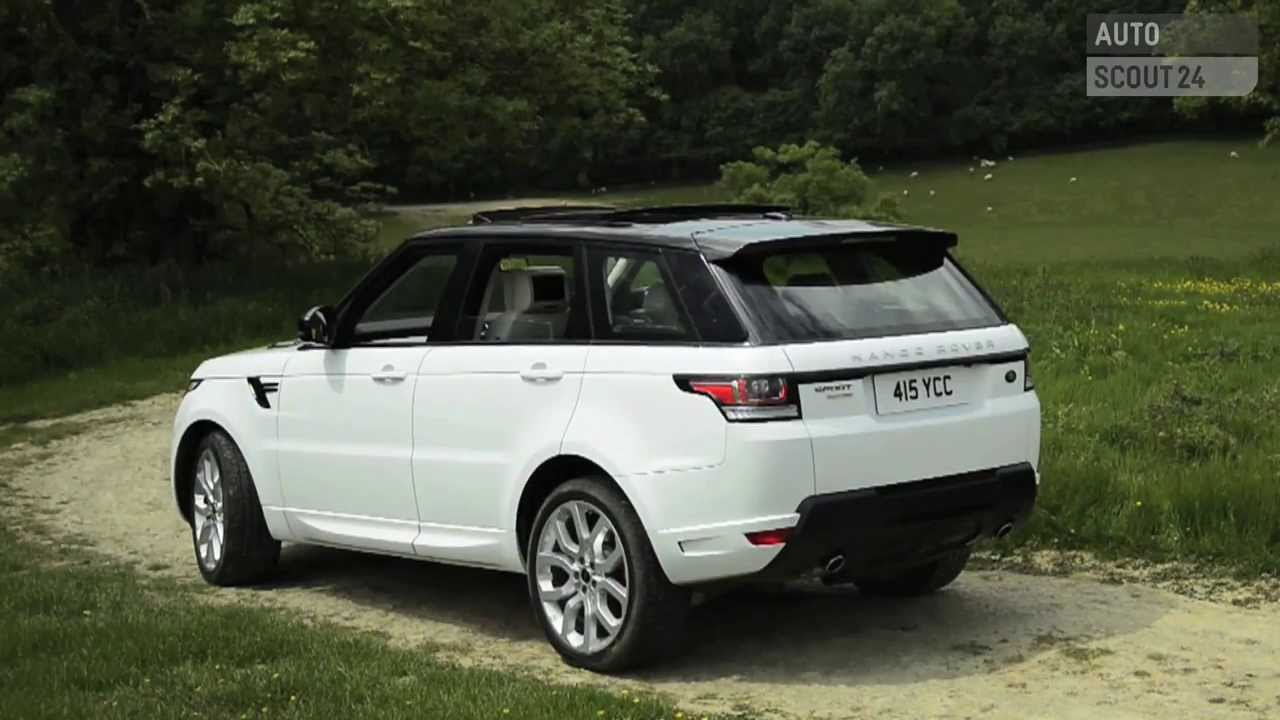 test range rover sport 2013 autoscout24 youtube. Black Bedroom Furniture Sets. Home Design Ideas