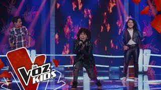 Gabi V, Jacobo y Lukas cantan Me Niego – Batallas | La Voz Kids Colombia 2019
