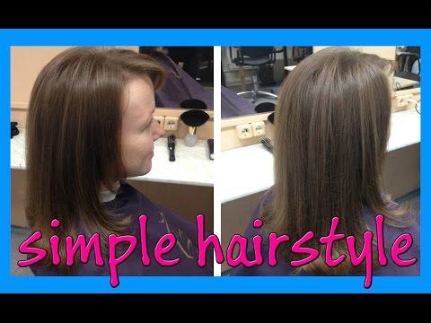 simple hairstyle for long hair (простая стрижка для длинных волос Рапсодия)