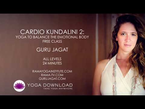 Cardio Kundalini 2: Yoga to Balance the Emotional Body - FREE YOGA CLASS