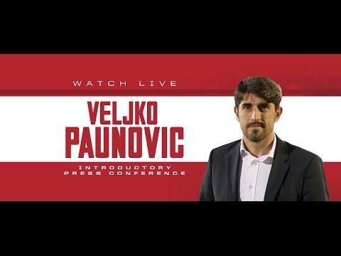 Chicago Fire Introduce Head Coach Veljko Paunovic