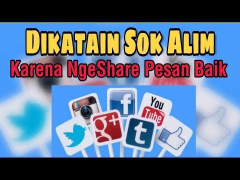 Share Tausiyah, Sok Alim ?