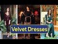 Velvet dresses in  Pakistan