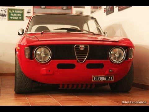 Alfa Romeo GT Junior - Davide Cironi agli albori del Drive Experience (SUBS)