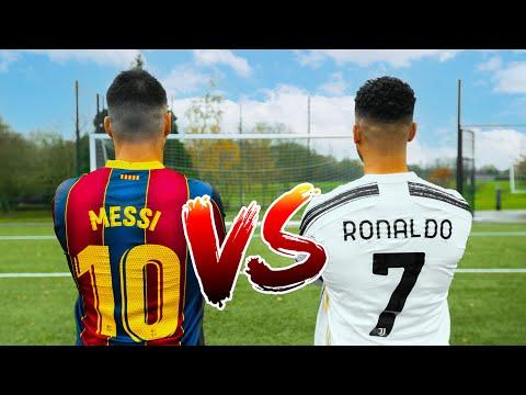 MESSI VS RONALDO 🐐 Thumbnail