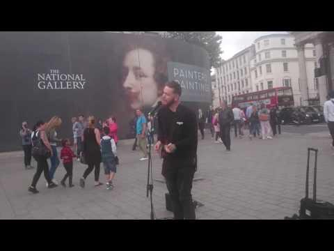 Sacha Broad Kolff, Trafalgar Square London