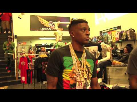 Lil Boosie BadAzz & Gutta Tv Go Shopping, Plus Meet & Greet With Fans