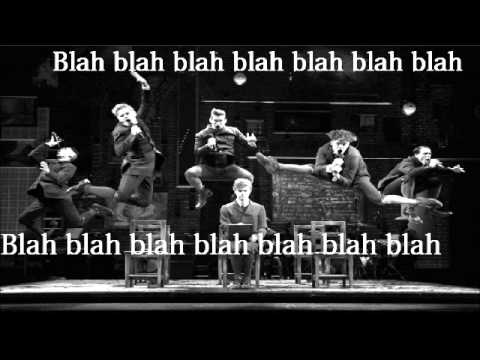 Totally Fucked - Spring Awakening with lyrics