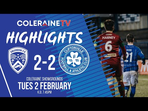 Coleraine Cliftonville Goals And Highlights