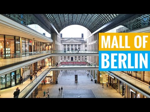 Mall Of Berlin - 300 Shops Shopping Centre & Food Court