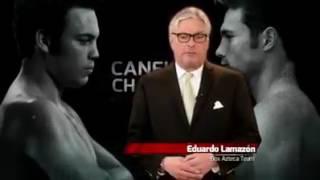 Don Lama le pone picante a la Canelo vs Chávez Jr Matute.
