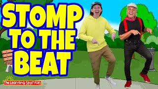 Stomp to The Bęat ♫ Feat. Matt from Dream English Kids ♫ Brain Break ♫ Songs by The Learning Station