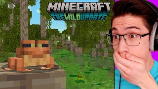 Testing The 1.19 WILD UPDATE for Minecraft Early!
