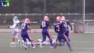 10月22日に行われた武蔵大学戦のハイライト動画です。 Track : Alex Skr...