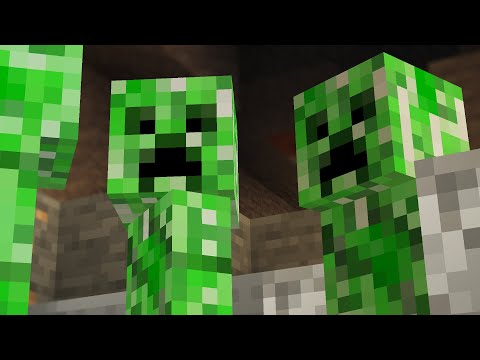 Minecraft CREEPER LIFE Simulator