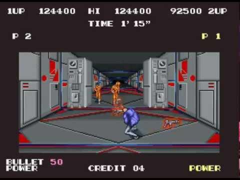 S.P.Y. Special Project Y arcade 2 player game