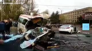 Появилось видео смертельного ДТП в Кривом Роге