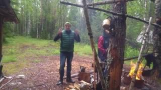 Небольшое видео из похода на Кожозеро (Онежский уезд, Архангельской губернии)
