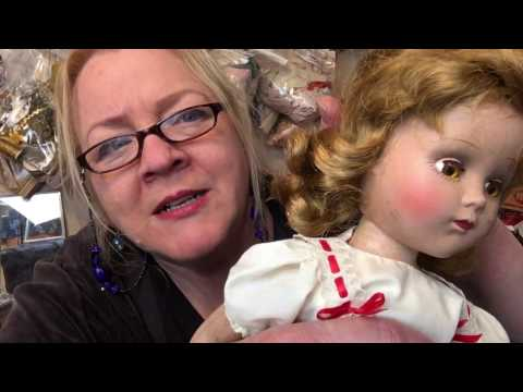 Hazel Twigg How To Clean Your Composition Doll and Remove Fine Craze Lines EASY