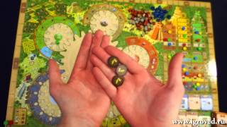 Тцолкин: Календарь Майя. Обзор Игроведа.